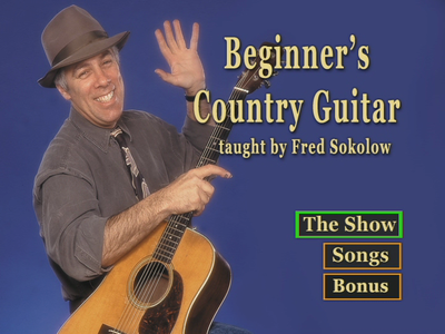 Fred Sokolow - Beginner's Country Guitar