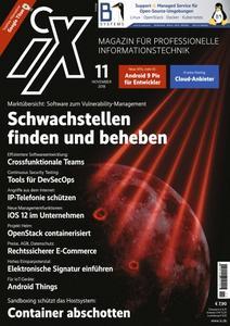 iX Magazin - November 2018