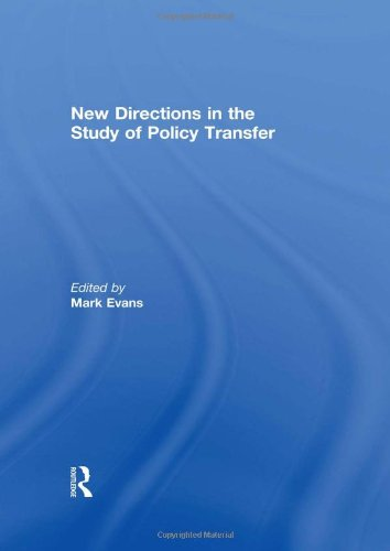 New Directions in the Study of Policy Transfer