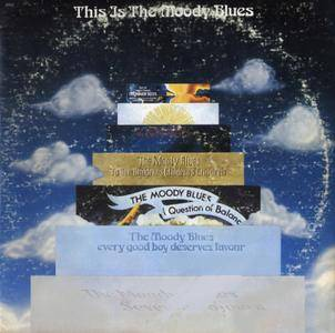 The Moody Blues - This Is The Moody Blues (1974) Threshold Records/THS-12 - US 1st Pressing - 2LP/FLAC In 24bit/96kHz