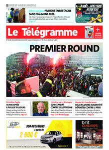 Le Télégramme Brest Abers Iroise – 06 décembre 2019
