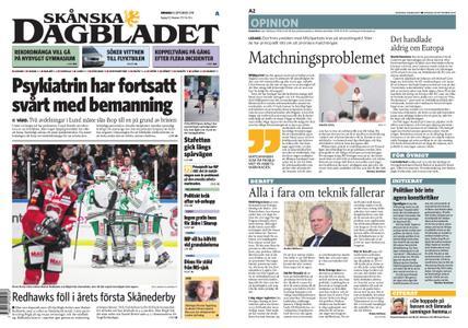 Skånska Dagbladet – 18 september 2019