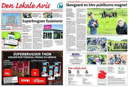 Den lokale avis – 18. september 2019