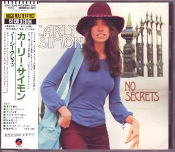 Carly Simon - No Secrets (1972) [1988, Japan]