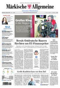 Märkische Allgemeine Zossener Rundschau - 06. Februar 2018