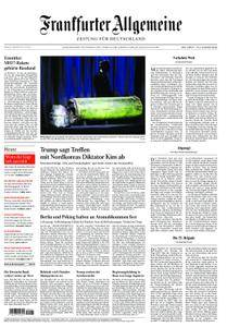Frankfurter Allgemeine Zeitung F.A.Z. - 25. Mai 2018