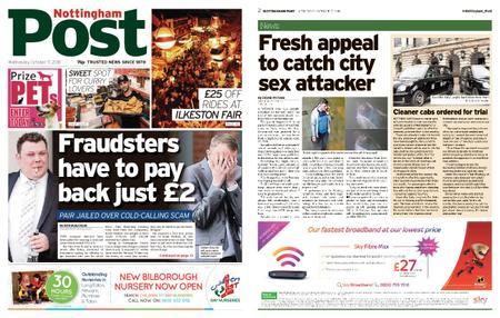 Nottingham Post – October 17, 2018
