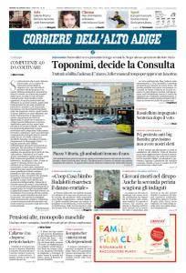 Corriere dell'Alto Adige - 19 Gennaio 2018