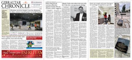 Gibraltar Chronicle – 09 February 2021