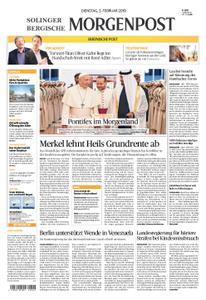 Solinger Morgenpost – 05. Februar 2019
