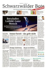 Schwarzwälder Bote Hechingen - 11. April 2019
