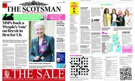 The Scotsman – November 08, 2018