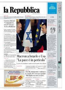 la Repubblica - 11 Dicembre 2017