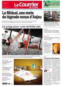 Le Courrier de l'Ouest Cholet – 31 août 2019