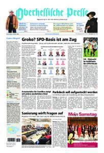 Oberhessische Presse Marburg/Ostkreis - 08. Februar 2018