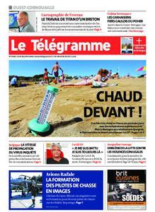 Le Télégramme Ouest Cornouaille – 30 juillet 2020