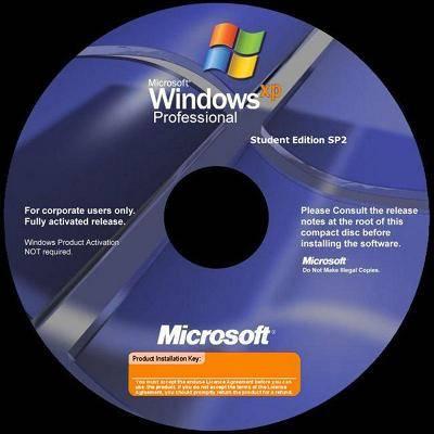 Windows XP Professional Student Edition SP2