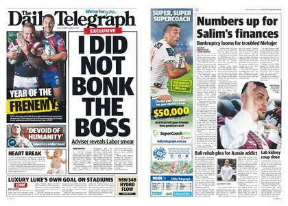 The Daily Telegraph (Sydney) – March 02, 2018
