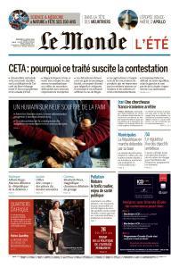 Le Monde du Mercredi 17 Juillet 2019