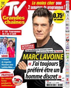 TV Grandes chaînes - 4 Avril 2020