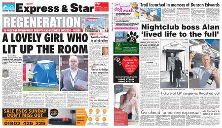 Express and Star City Edition – January 23, 2018