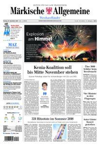 Märkische Allgemeine Westhavelländer - 23. September 2019