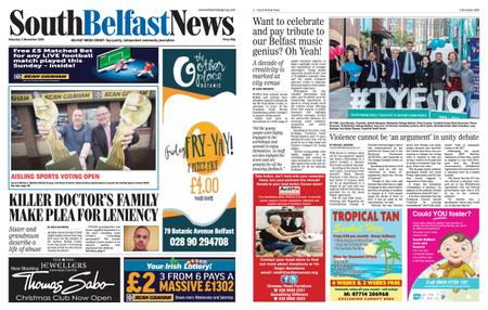 South Belfast News – November 01, 2019