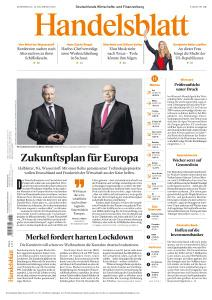 Handelsblatt - 10 Dezember 2020