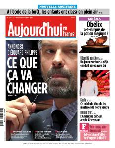 Aujourd'hui en France du Mercredi 5 Décembre 2018