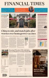Financial Times Europe - April 12, 2021