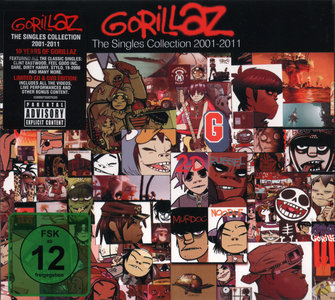 Gorillaz - The Singles Collection 2001-2011 (2011) CD+DVD [Re-Up]