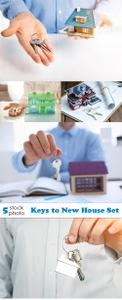 Photos - Keys to New House Set