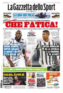 La Gazzetta dello Sport Roma – 14 gennaio 2021