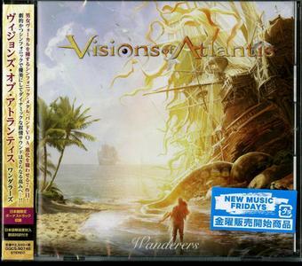 Visions Of Atlantis - Wanderers (2019) {Japanese Edition}