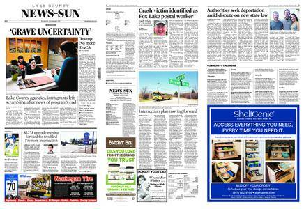 Lake County News-Sun – September 06, 2017
