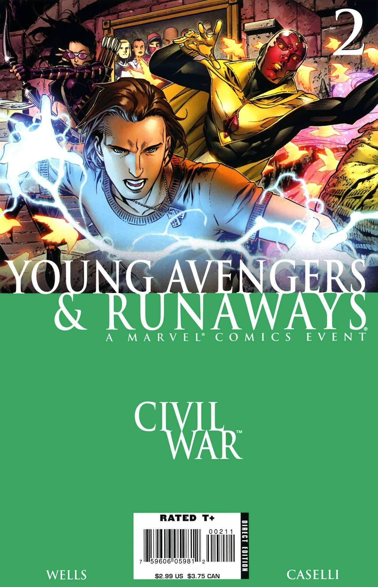 Civil War - Young Avengers  Runaways 02