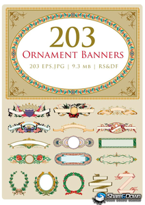 203 Ornament Banners