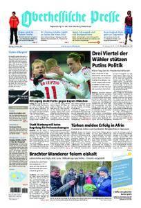 Oberhessische Presse Marburg/Ostkreis - 19. März 2018