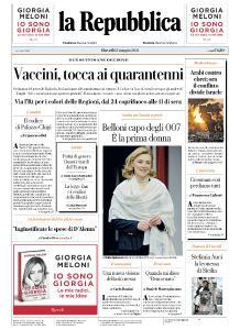 la Repubblica - 13 Maggio 2021