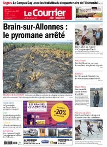 Le Courrier de l'Ouest Nord Anjou – 21 septembre 2021