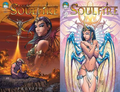 Soulfire Vol.1 #0-10 + Preview (2011) Complete