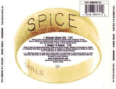 Spice Girls - Wannabe (US CD single) (1996) {Virgin} **[RE-UP]**