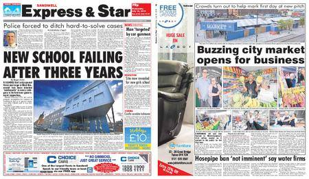Express and Star Sandwell Edition – July 18, 2018