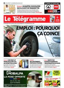 Le Télégramme Ouest Cornouaille – 22 septembre 2021