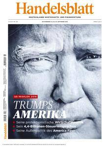 Handelsblatt - 23. September 2016