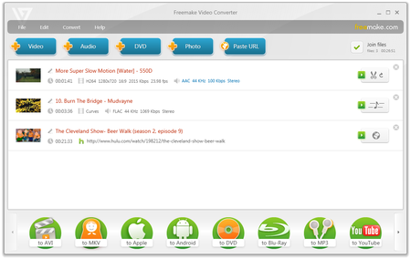 Freemake Video Converter 4.1.10.296 Multilingual