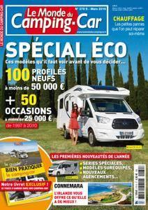 Le Monde du Camping-Car - mars 2016