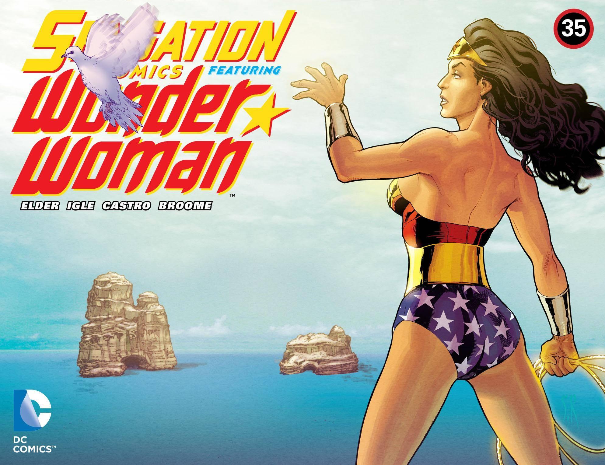 Sensation Comics Featuring Wonder Woman 035 2015