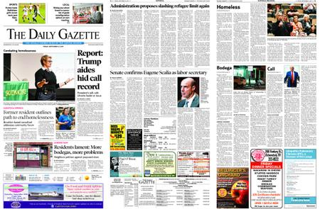The Daily Gazette – September 27, 2019
