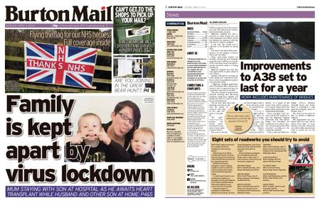 Burton Mail – April 06, 2020